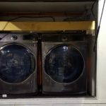 set of Samsung front load washer & dryer